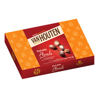 Van Houten Milk Chocolate Gift Tin - Almonds