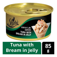 Sheba Cat Can Food - Tuna with Bream in Jelly
