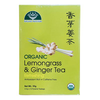 Nature's Nutrition Organic Tea Bag - Lemongrass & Ginger