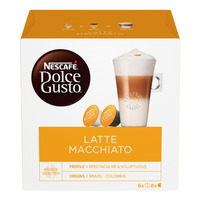 Nescafe Dolce Gusto Beverage Capsules - Latte Macchiato