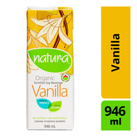 Natur-A Organic Fortified Soy Beverage - Vanilla