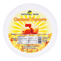 Natural Park Popcorn Tub - Caramel