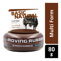 Gatsby Moving Rubber Styling Wax - Multi Form
