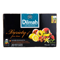 Dilmah Pure Ceylon Tea Bags - Variety of Fun Teas