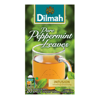 Dilmah Infusion Pure Tea Bags - Peppermint Leaves  20 x 1.5G