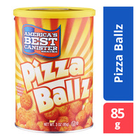 America's Best Canister Snacks - Pizza Ballz