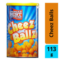 America's Best Canister Snacks - Cheez Balls