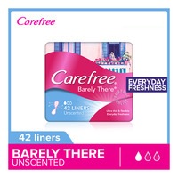 Carefree Barely There Panty Liners - Unscented