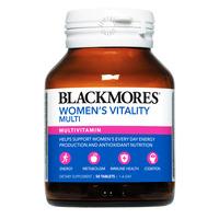 Blackmores Multivitamin Tablets - Women's Vitality Multi