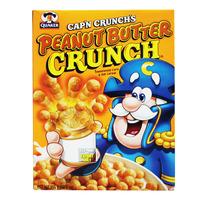 Quaker Cap'n Crunch's Peanut Butter Cereal - Sweetened Corn &Oats