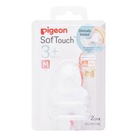 Pigeon Peristaltic Plus Wide Neck Teats - M (3+ months)