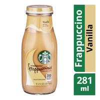 Starbucks Chilled Frappuccino Bottle Coffee - Vanilla