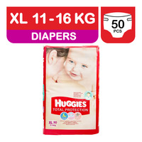 Huggies Total Protection Diapers - XL (11 - 16kg)