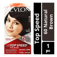Revlon Top Speed Hair Colour - 60 Natural Brown