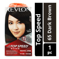 Revlon Top Speed Hair Colour - 65 Dark Brown
