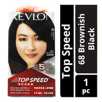 Revlon Top Speed Hair Colour - 68 Brownish Black