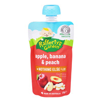 Rafferty's Garden Baby Food - Apple, Banana & Peach