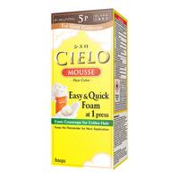 Cielo Mousse Hair Colour - 5P Dark Pure Brown
