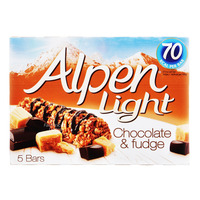 Alpen Light Cereal Bars - Chocolate & Fudge