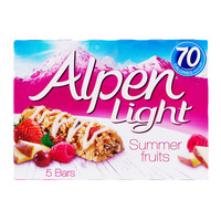 Alpen Light Cereal Bars - Summer Fruits