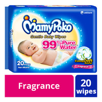 MamyPoko Gentle Baby Wipes - Fragrance