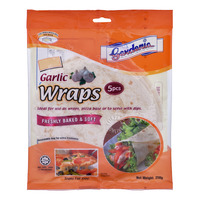 Gardenia Wraps - Garlic