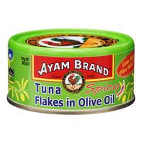 Ayam Brand Tuna Flakes - Olive Oil (Spicy)