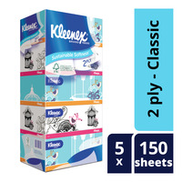 Kleenex Facial Tissue Box - Classic (2ply)