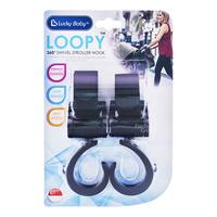 Lucky Baby Loopy Swivel Stroller Hook