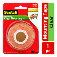 3M Scotch Permanent Mounting Tape - Clear