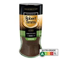 Robert Timms Roasted Granulated Coffee - Premium Espresso