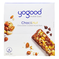 Yogood Chocolate Coated Muesli Bars - Chocolate & Nut