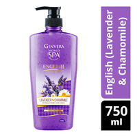 Ginvera World Spa Shower Scrub - English (Lavender & Chamomile)