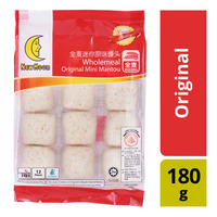 New Moon Wholemeal Mini Mantou - Original
