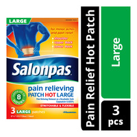 Salonpas Pain Relief Hot Patch - L