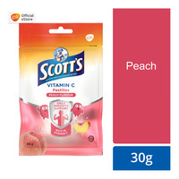 Scott's Vitamin C Pastilles - Peach