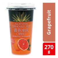 Sheng Hsiang Jen Aloe Vera Drinkable Jelly - Grapefruit