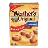 Storck Werther's Original Sugar Free Cream Candies - Classic