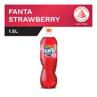 Fanta Bottle Drink - Strawberry