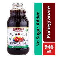 Lakewood Organic 100% Bottle Juice - Pomegranate