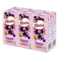 Ribena Blackcurrant Fruit Packet Drink - Less Sweet