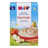 HiPP Organic Milk Pap - Fine Fruits (6+ Months) 250G