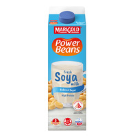 Marigold Power Beans Fresh Soya Milk - Reduced Sugar