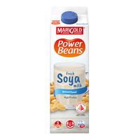 Marigold Power Beans Fresh Soya Milk - Unsweetened