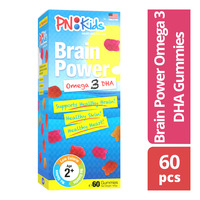 PNKids Brain Power Omega 3 DHA Gummies