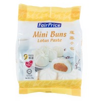 FairPrice Frozen Mini Buns - Lotus Paste