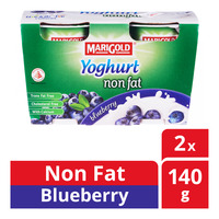 Marigold Non Fat Yoghurt - Blueberry
