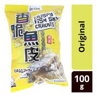 Un Chi Crispy Fish Skin Crackers - Original