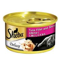 Sheba Cat Can Food - Tuna and Shirasu