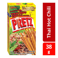 Glico Pretz Biscuit Sticks - Thai Hot Chili